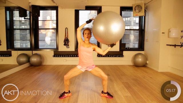 Physio Ball Upper Body Workout