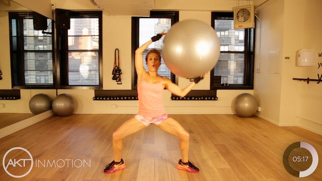 Physio Ball Upper Body Workout