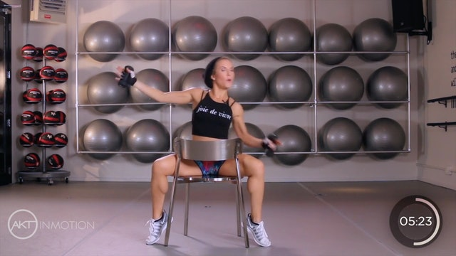 Chair Upper Body Workout