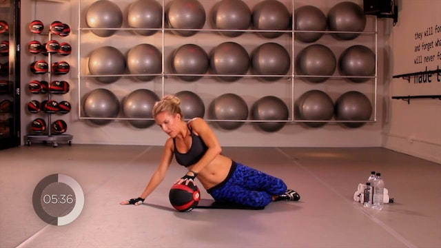 Medicine Ball Upper Body Workout
