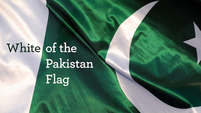 White of the Pakistani Flag