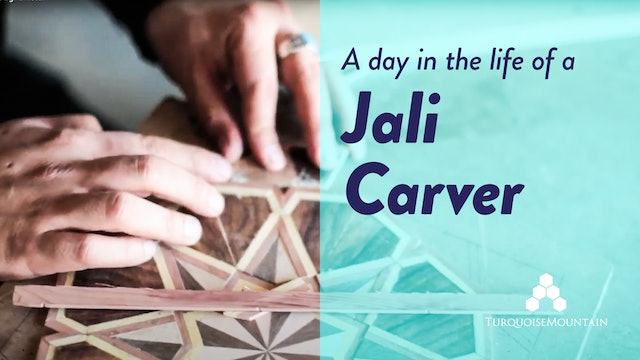 A Day in the Life of a Jali Carver