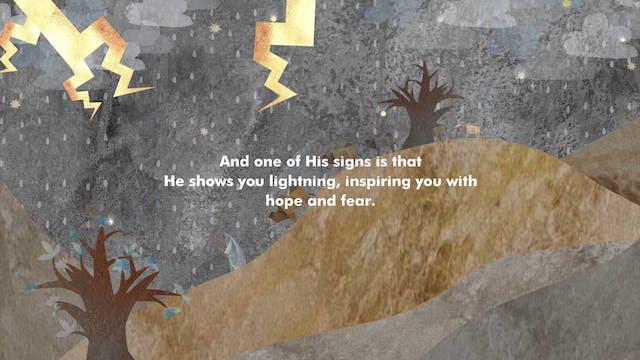 Surat al-Rum (The Romans) 30:24