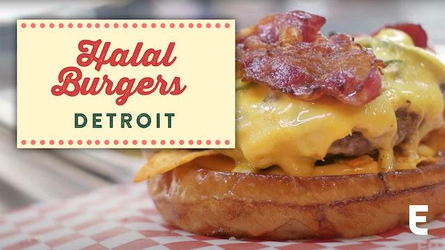 Detroit, All American Halal Burgers