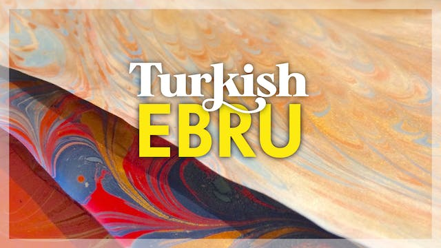 Turkish Ebru (Paper Marbling)
