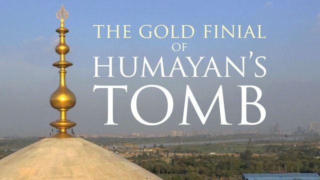 The Gold Finial of Humayun's Tomb