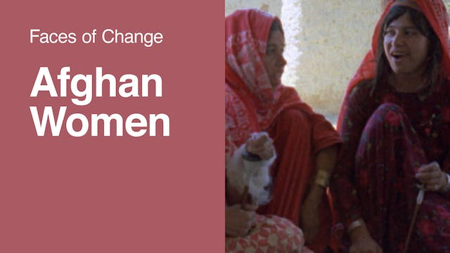 Faces of Change | Afghan Women