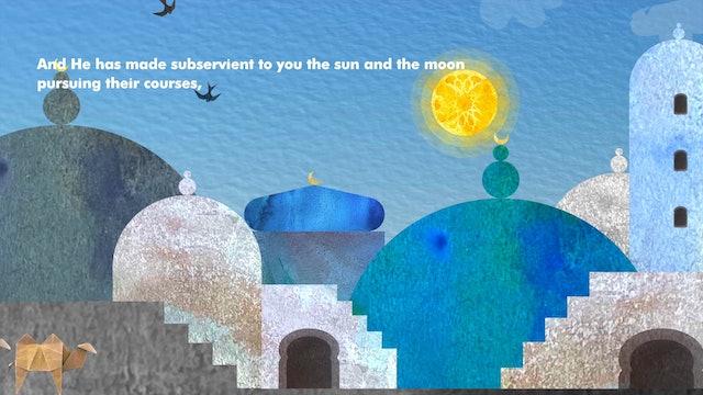 Surat Ibrahim (The Prophet Abraham) 14:33