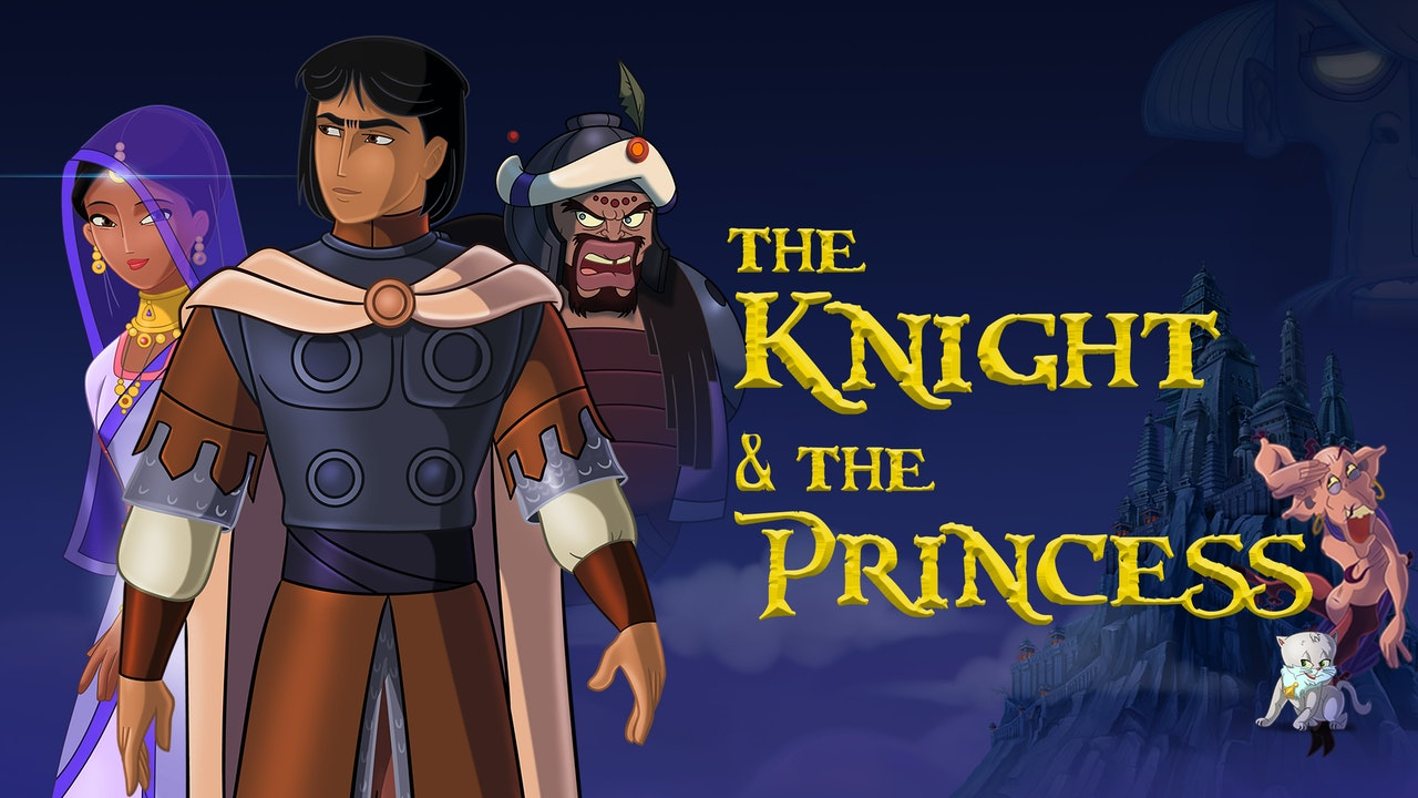 The Knight and the Princess | Arabic & English Audio