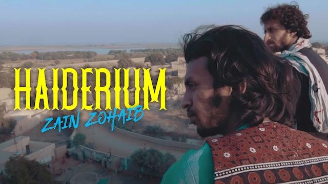 Haiderium: Zain Zohaib