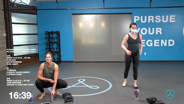 60-Minute Circuit with Coach Christy (043021)