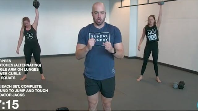 45-Minute Cardio with Coach Ben (102520)