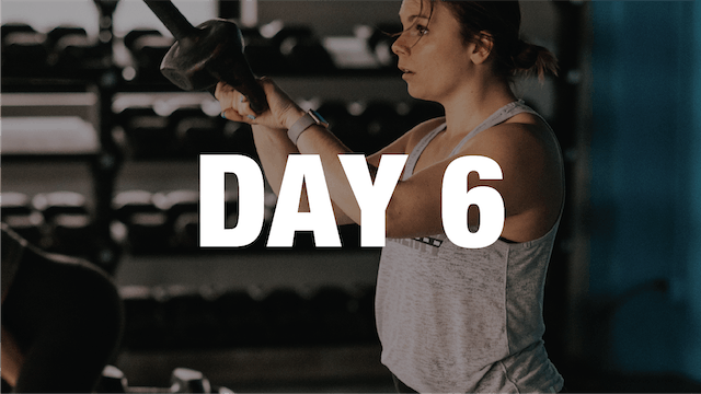 Strong At Home: Day 6