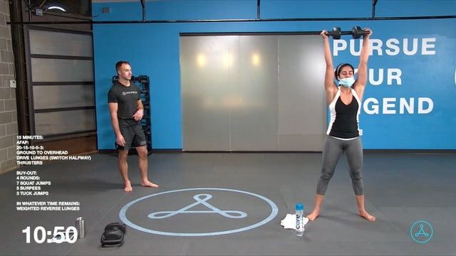 45-Minute Cardio with Coach Tyler (040321)