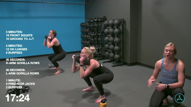 45-Minute Cardio with Coach Jalisa (081220)