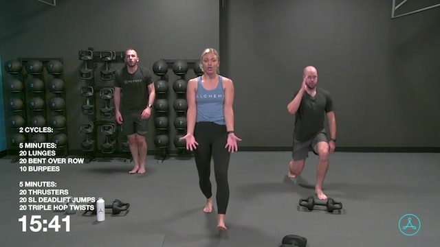 45-Minute Cardio with Coach Jalisa (081920)