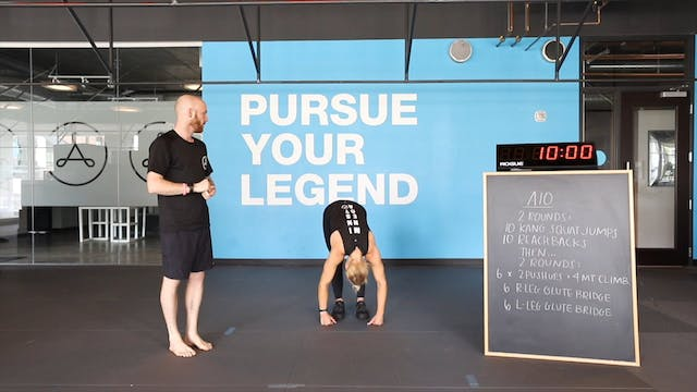 Bodyweight A10: May 28, 2020