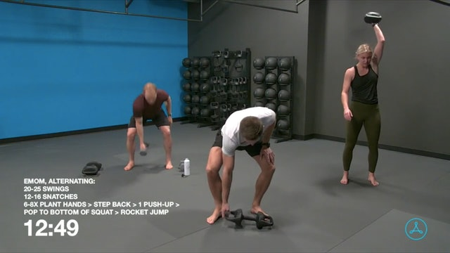 60-Minute Circuit with Coach Brock (100620)