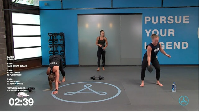 45-Minute Cardio with Coach Christy (61121)