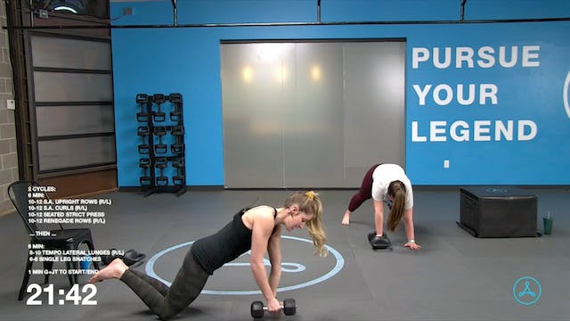 60-Minute Strength with Coach Sarah (...