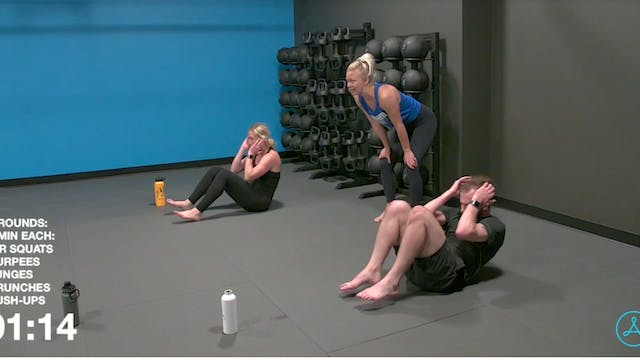 30-Minute Bodyweight HIIT Workout (A1...