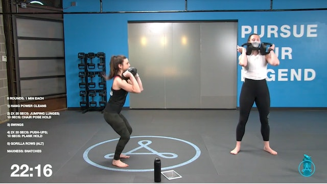 60-Minute Circuit with Coach Devyn (033121)