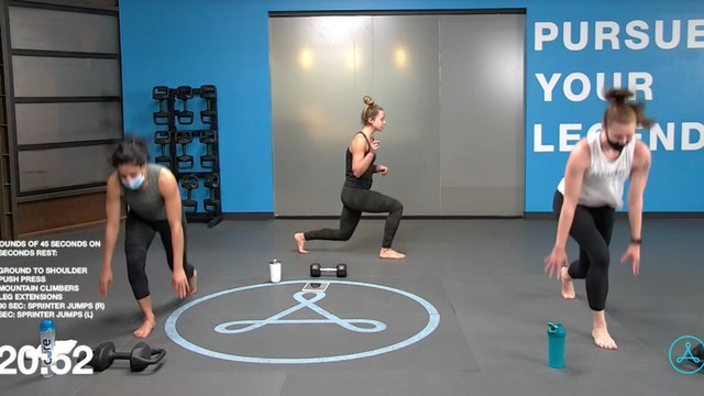 60-Minute Cardio with Coach Christy (040921)