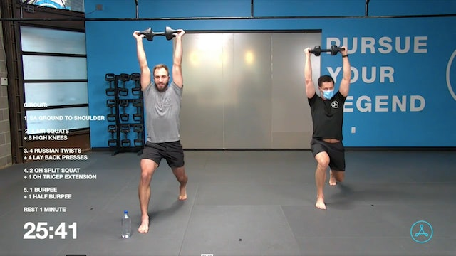 60-Minute Circuit with Coach Tyler (121220)