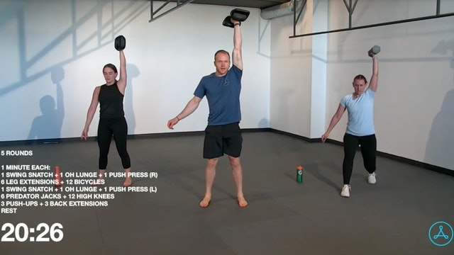 60-Minute Circuit with Coach Konnor (111020)