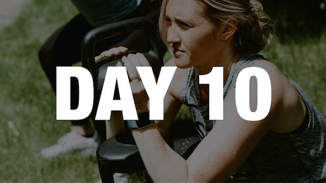 Day 10: 14-Day Jump Start Challenge (...