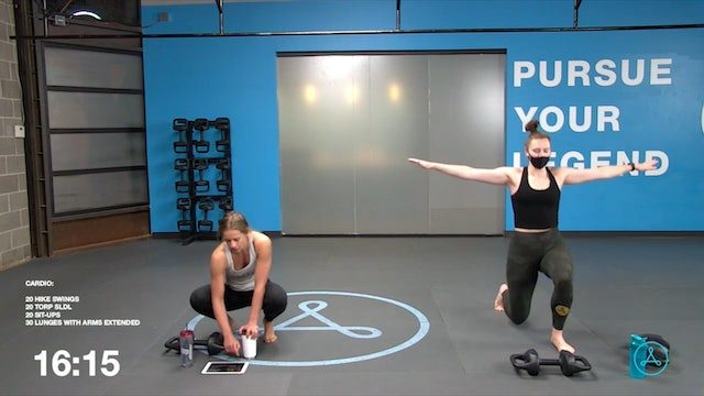 45-Minute Cardio with Coach Christy (041621)