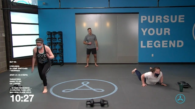 30-Minute Cardio with Coach Tyler (022621)
