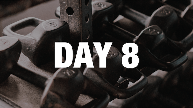 Strong At Home: Day 8