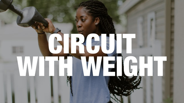 45-Minute Circuit Class with Weight