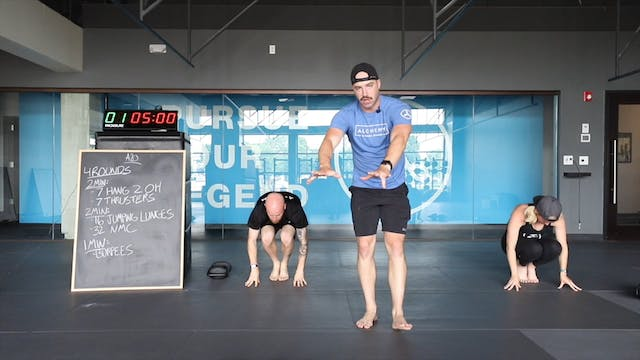 45-Minute Cardio with Coach Ben (060620)