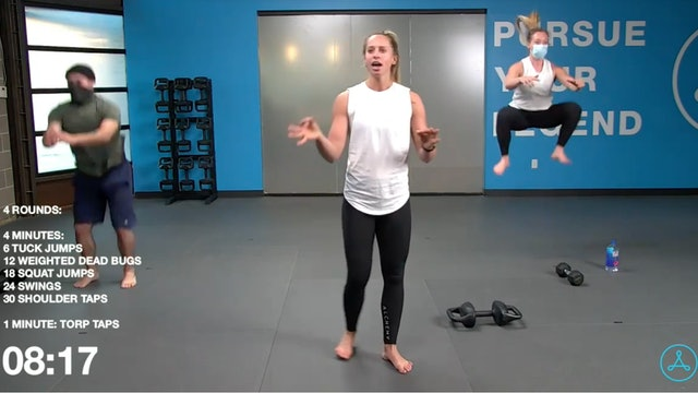 45-Minute Cardio with Coach Christy (121320)