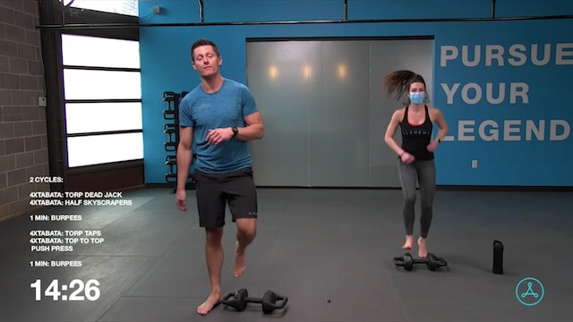 45-Minute Cardio with Coach Brock (121620)