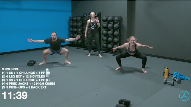 30-Minute Circuit with Coach Jalisa (101220)