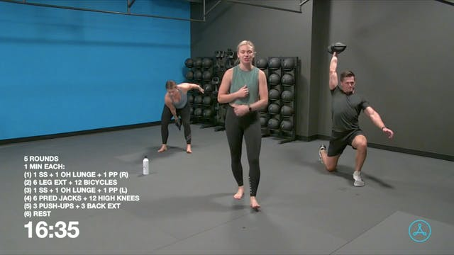 45-Minute Circuit with Coach Jalisa (...