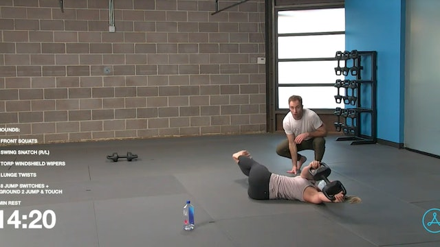 60- Minute Circuit with Coach Tyler (122720)