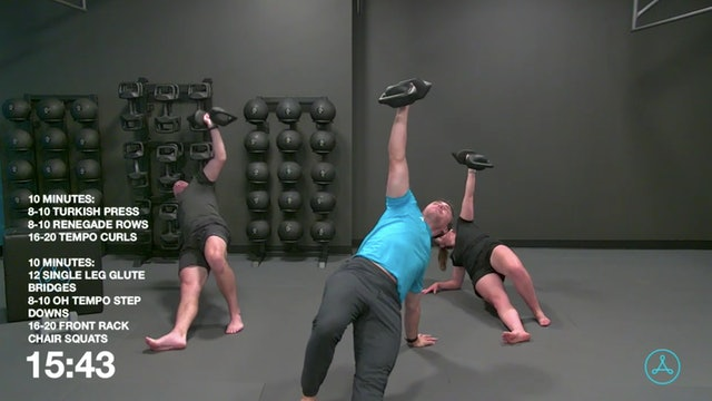 45-Minute Strength with Coach Alex (092220)