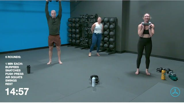 60-Minute Circuit with Coach Rachel (...