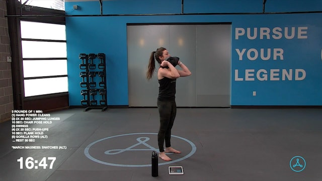 45-Minute Circuit with Coach Devyn (033121)