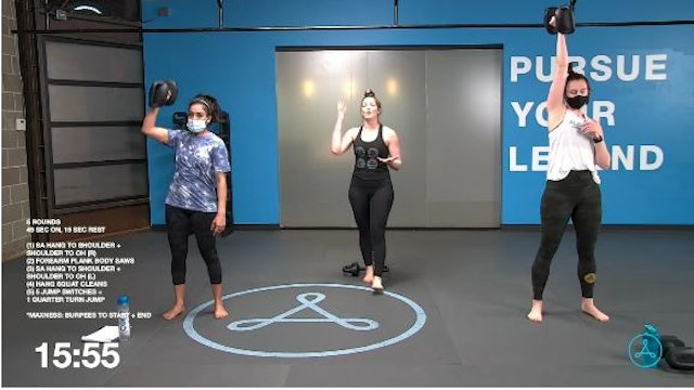 60-Minute Circuit with Coach Maytal (032721)