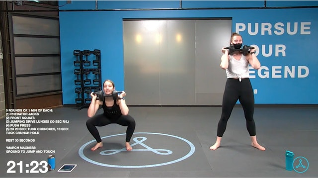 60-Minute Circuit with Coach Sarah (031621)