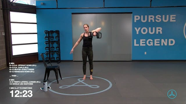 45-Minute Strength with Coach Sarah (...