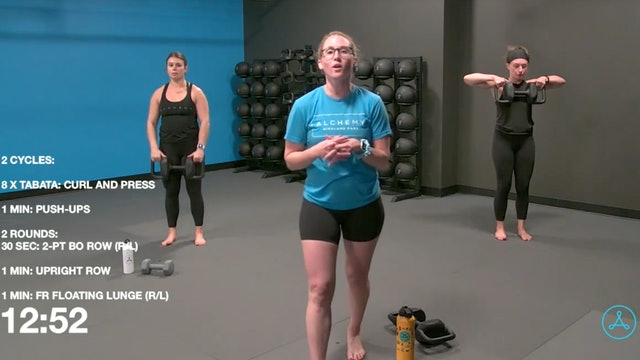 45-Minute Strength with Coach Alex (092420)