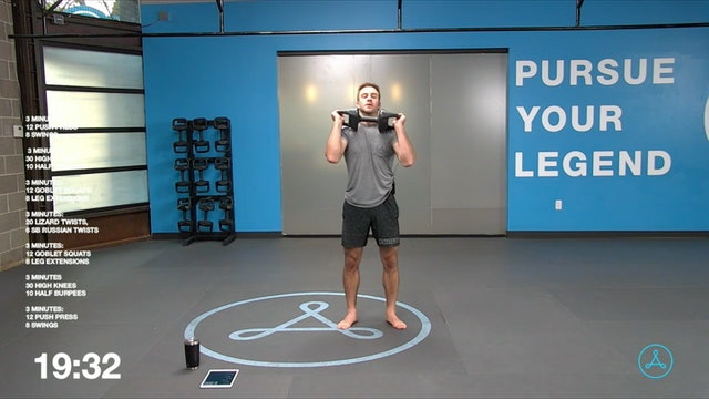45-Minute Cardio with Coach Tyler (051921)