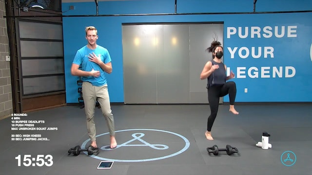 45-Minute Cardio with Coach Chris (042921)