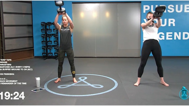 45-Minute Cardio with Coach Christy (032621)
